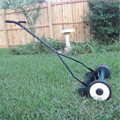 "16"" inch reel mower front"