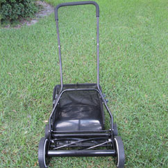 "18"" inch Reel Mower Side View"